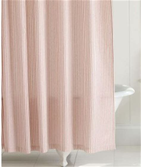 red ticking curtains pottery barn vintage inspired red ticking shower fabric