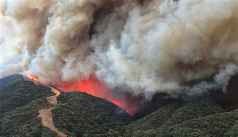 Santa Barbara County Records Officially Becomes Largest Wildfire On California Records The Inertia