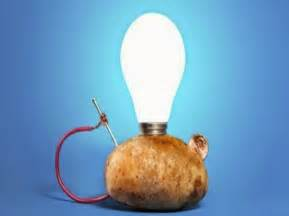 Potato Light Bulb by The Science Thanksgiving How Potatoes Get To Your