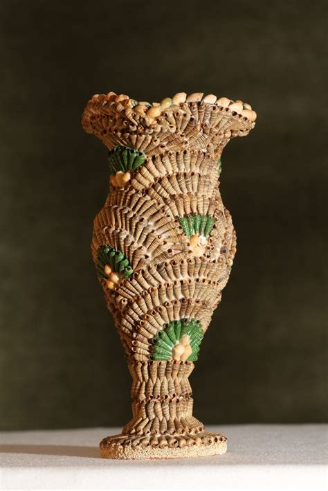 Vases With Seashells by 17 Best Images About Shell Vases Urns Pots On
