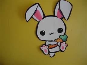 cute bunny drawings draw bunny easy kawaii drawing tutorial beginners drawing
