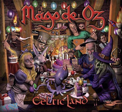 imagenes ocultas portadas mago de oz mago de oz celtic land la portada del disco
