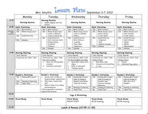 ode lesson plan template week lesson plans grade beginning of year