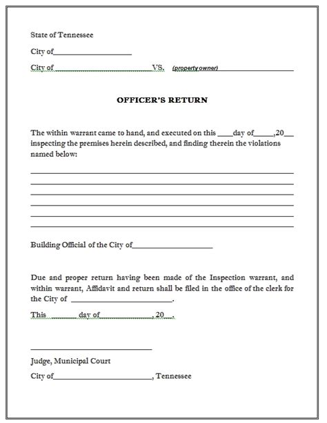 Affidavit For Search Warrant Search Warrant Affidavit Template Invitation Template