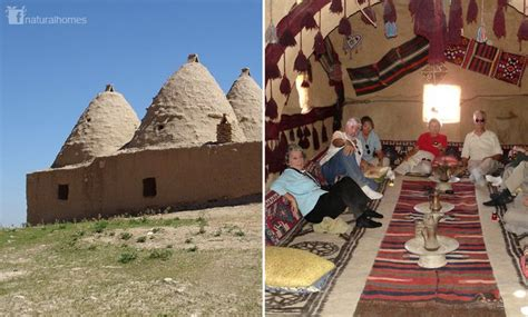 these are syrian beehive homes in northern syria along the