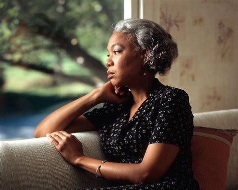 Free elderly black woman clipart