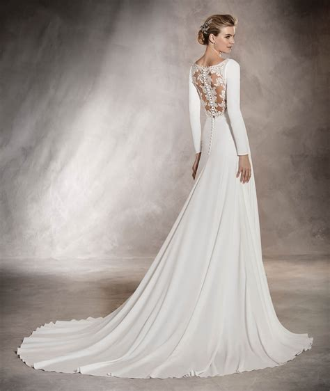 In The Wedding by Pronovias Orquidea Mermaid Wedding Dress 163 1590