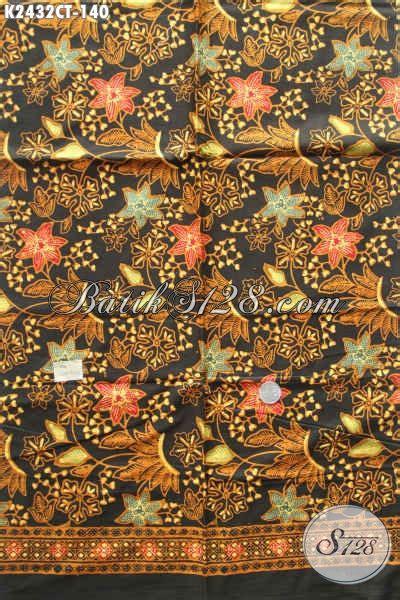 Gamis Bati batik kain motif bunga warna elegan klasik bahan blus