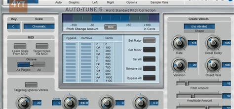 Auto Tuning Your Voice by Tpain Effect Autotune Program Free Software And