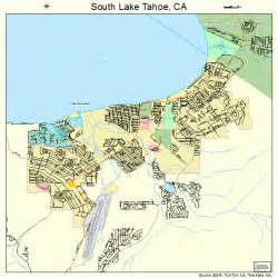 south lake tahoe california map 0673108