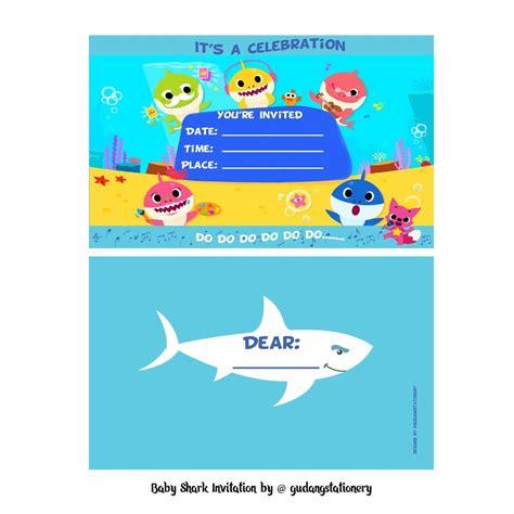 baby shark video download free jual kartu undangan ulang tahun baby shark di lapak gudang