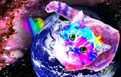 wallpaper galaxy cat galaxy cat by bironicus on deviantart