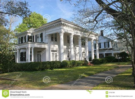 southern mansion house plans southern mansion royalty free stock photos image 3793788