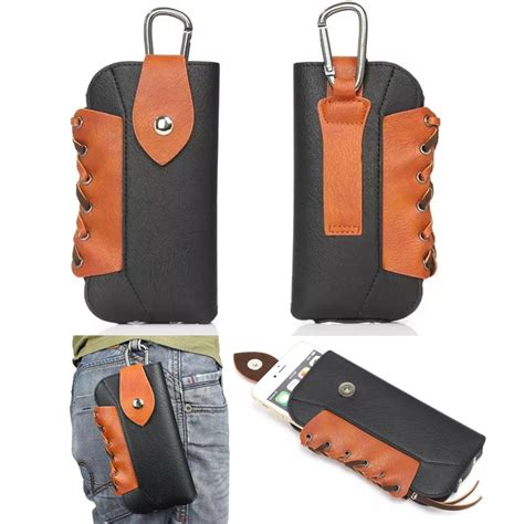 Ht Pouch buy leather pouch belt clip hook loop protective phone cover bag for homtom ht10 ht20
