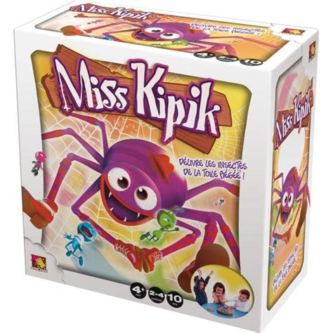 Asmodee Jeux Educatif 15 Ans by Asmodee Miss Kipik Achat Vente Jeu Soci 233 T 233 Plateau Cdiscount