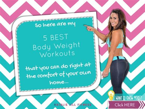 5 best weight workouts you can do at home