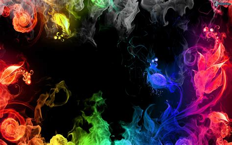 color flames colored smoke