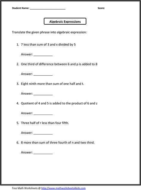 6th Grade Writing Worksheets by 8 Best Images Of Free Essay Writing Practice Worksheets