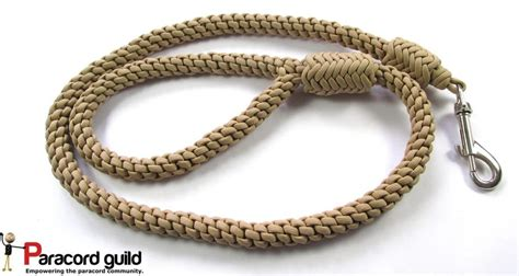 how to make a paracord leash crown knot paracord leash paracord guild
