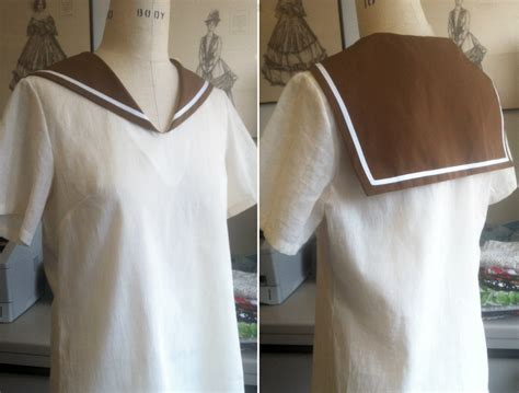 how to make a collar image gallery sailor collar