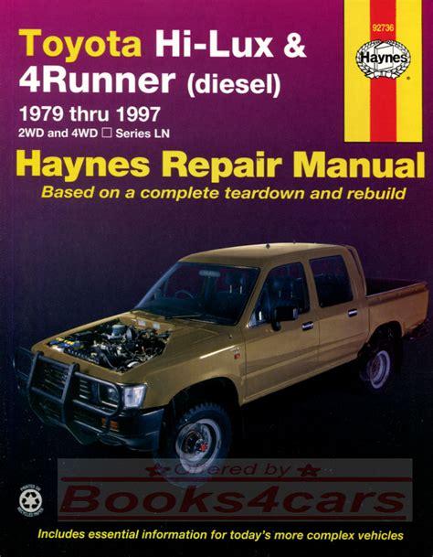 toyota service truck toyota truck manuals at books4cars com
