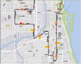 Chicago Marathon Course Map by The Misadventures Of Rebecca Training For The 2012