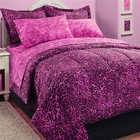 120 Best Leopard Bedding Images On Pinterest Pink Cheetah Print Bed Set