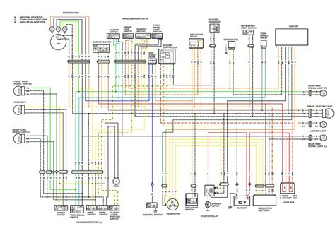 suzuki x4 125 motorcycle wiring diagram wiring diagram