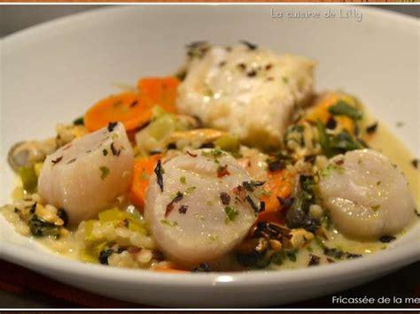la cuisine de la mer recettes de fricass 233 e et la mer
