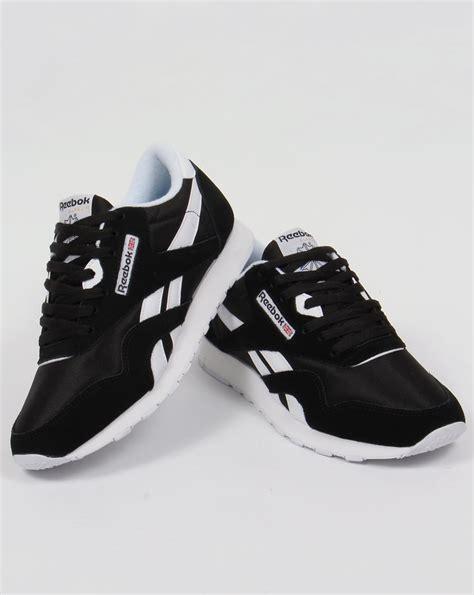 Reebok Classic Black reebok classic trainers black white shoes mens