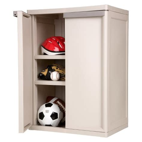 storage cabinets with doors and shelves target sterilite 174 2 shelf garage or utility storage cabinet