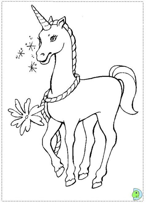 sweet unicorn barbie  swan lake coloring page  kids