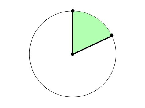circle section arc length and area of a sector hiset math