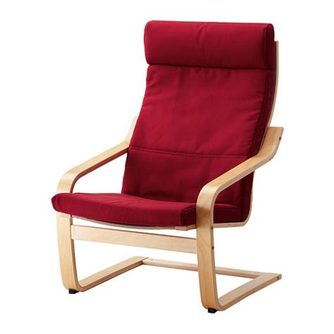 po 196 ng chair dansbo medium birch veneer ikea