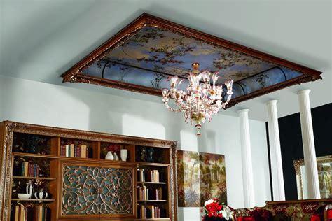 soffitti decorati soffitti decorati di cosa tener conto per non fare passi