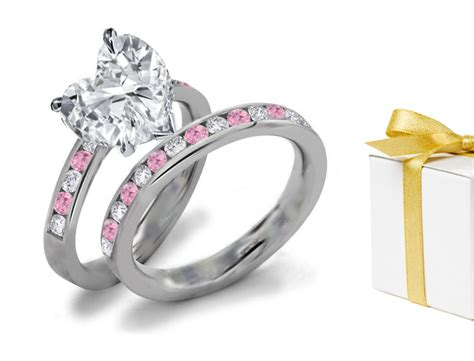 color rings pink diamonds blue diamonds green