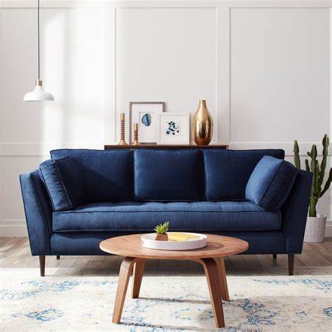 blue furniture navy blue sofa best 25 navy blue sofa ideas on pinterest