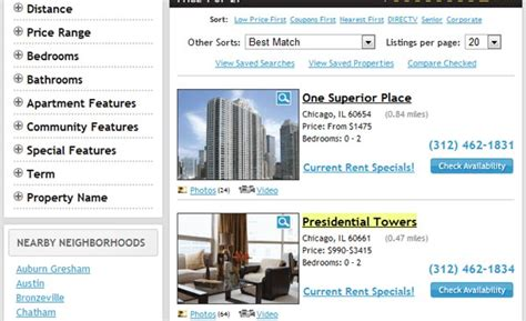 Apartment Finder Tips Apartment Guide Find And Search Apartments For