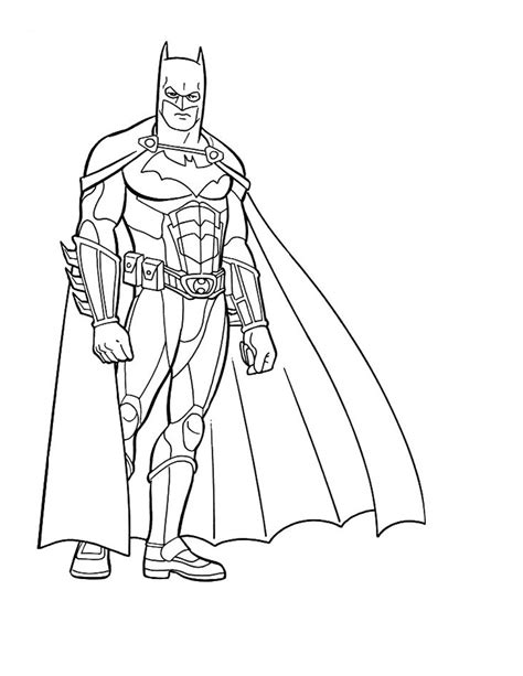 free coloring pages of batman and robin printable