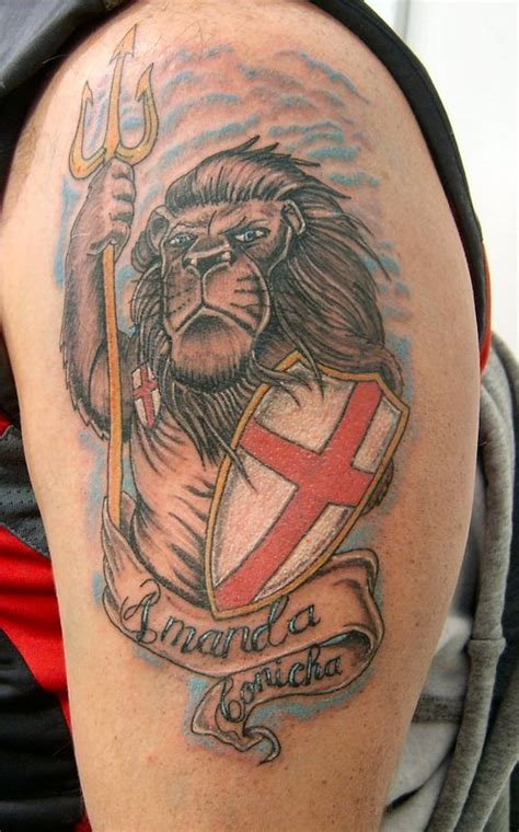 english flag tattoos designs bulldog and uk flag tattoos bulldog and uk flag