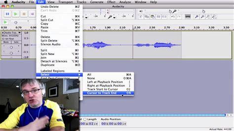 youtube loop section audacity loop tutorial how to loop sound sles youtube