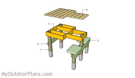 build shooting bench free shooting bench plans myoutdoorplans free woodworking plans and projects diy
