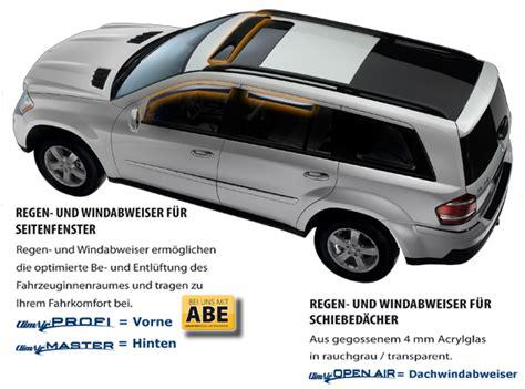 Windabweiser Auto by Windabweiser Und Regenabweiser Climair F 252 R Mini Modelle