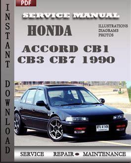 small engine maintenance and repair 1990 honda accord spare parts catalogs honda accord cb1 cb3 cb7 1990 workshop factory service repair shop manual pdf download online