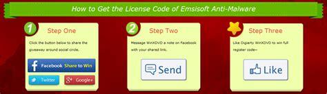 Emsisoft Giveaway - freebie emsisoft anti malware 9 full version serial key free