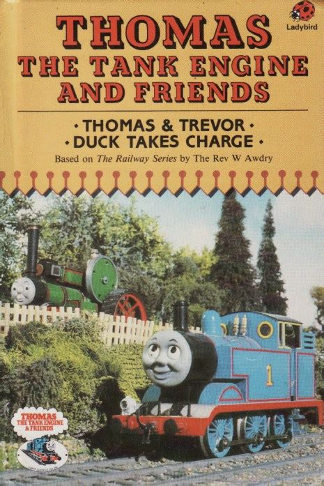 the tank book the thomas and trevor ladybird book thomas the tank engine and friends first edition gloss hardback 1986