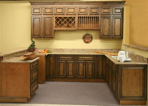 Kitchen Vanity Cabinets by Kitchen Cabinets Rustic Pecan Maple Kitchen Vanity