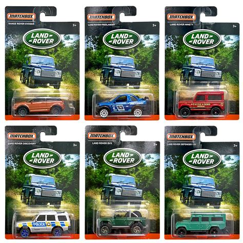 matchbox land rover discovery matchbox land rover exclusive limited edition set of 6