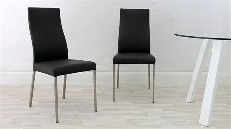 modern real leather dining chairs genuine soft leather