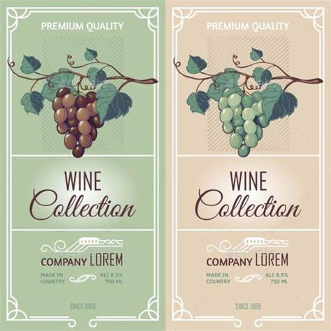 Wine Label Template Bravebtr Wine Label Design Templates Free